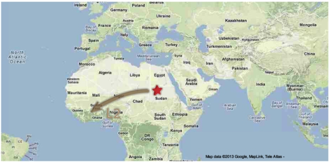 my mtDNA journey across Africa