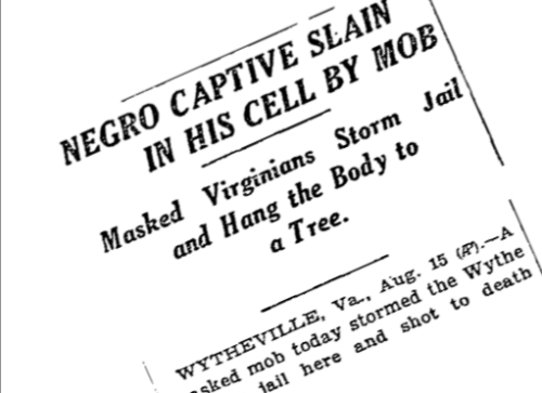 1926 New York Times Raymond Byrd headline