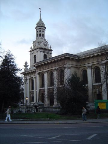 St Alfege church, Greenwich, London, England