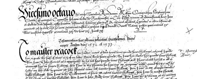 Last Will and Testament of Bartholomew Roane