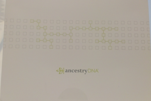 My Ancestry.com DNA test kit