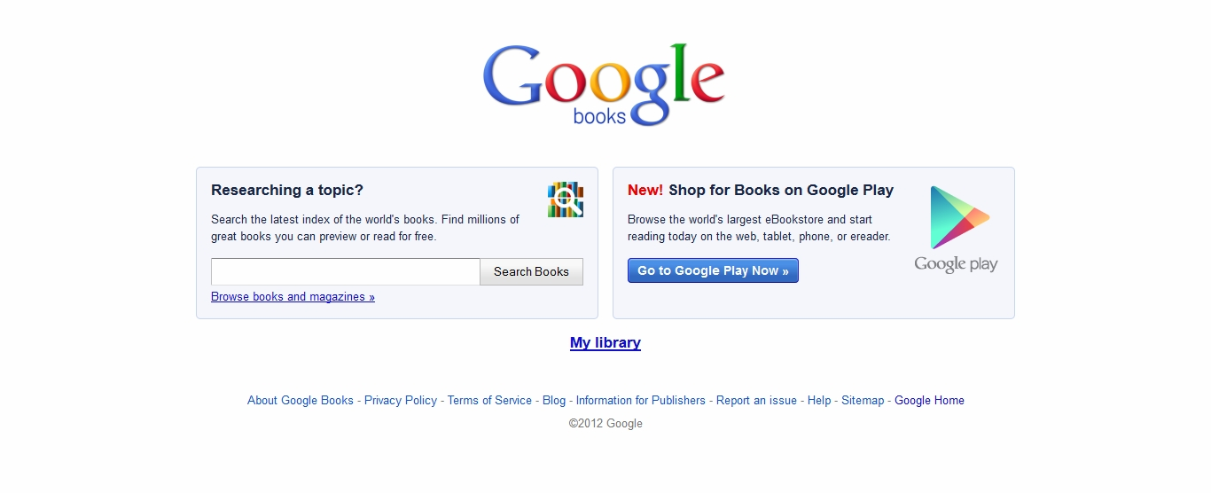 Google Books... Great Google