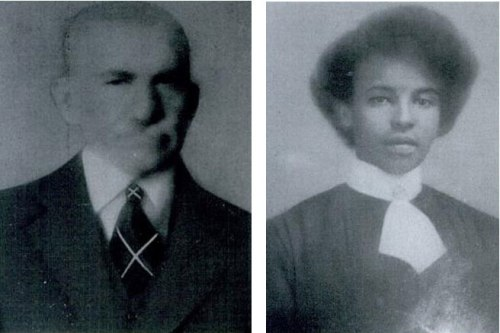 Picture of John Hampton Roane and is wife, Emma Virginia Griggs.