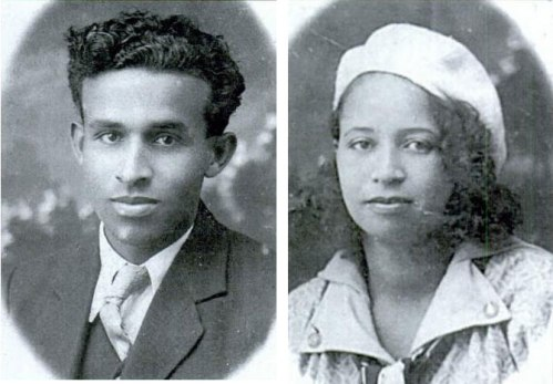 Picture of Joseph Jepthro Roane and his wife, Sadie Vivian Russell