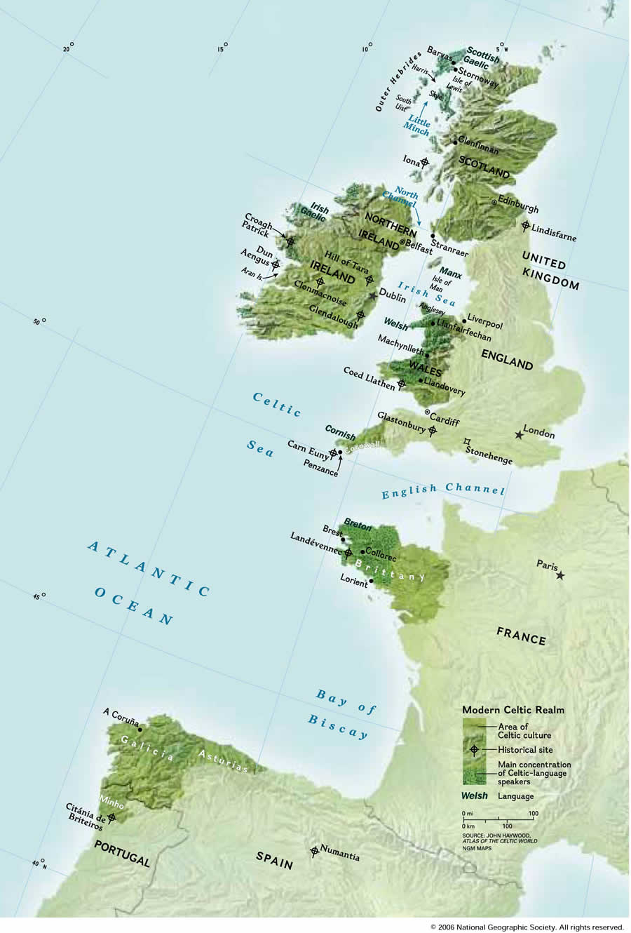 Is There Trace Iberian Results In Your British DNA This Might Be - Welsh language map